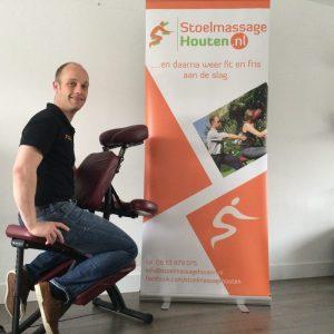 StoelmassageHouten.nl Mark Middelweerd stoelmassage op locatie bedrijfsmassage