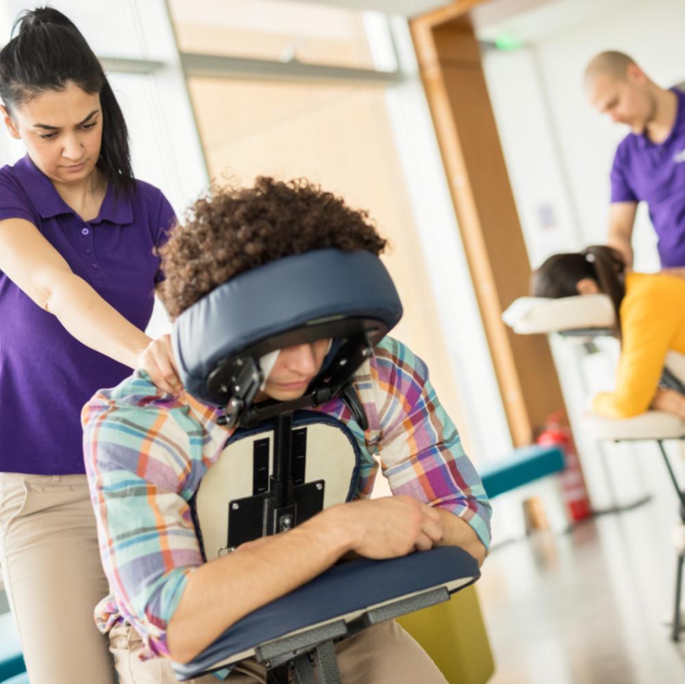 Stoelmassage in Houten en omstreken
